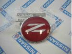 Z32 Red & Silver Hood Top Badge (Genuine/300ZX/Fairlady Z)
