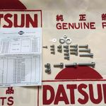ECC Single Carburetor Screw Kit (Genuine/Vanette 1200/1500/DATSUN 1200 Ute Late 89~)