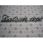 Datsun 1200 Boot Badge (Genuine)
