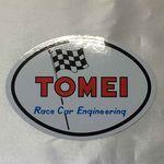 TOMEI 70's Sticker (Oval)
