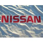 NISSAN Rear Tailgate Label (Aftermarket/Red/Datsun 1200 Ute)