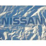 NISSAN Rear Tailgate Label (Aftermarket/Silver/Datsun 1200 Ute)