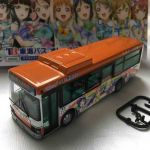 LoveLive ! Sunshine !! 1/80 Tokai Bus80 Orange Shuttle Wrapping #2 bus