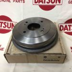 Rear Brake Drum (Genuine/B10 B110 Datsun 1200 Ute)