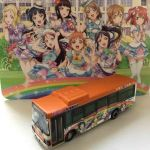 LoveLive ! Sunshine !! 1/150 Tokai Bus Orange Shuttle Wrapping #2 bus