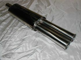 KB10 Replica Dual Exhaust Silencer