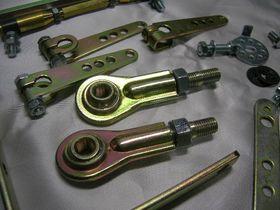 REDLINE ROUND Single Intake Manifold Linkage Kit