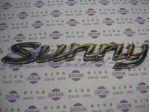 Sunny Gold Badge (Genuine/B15 SENTRA)