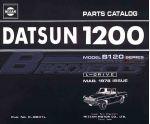 Datsun 1200 Ute Parts Catalog (LB120/Left Hand Drive)