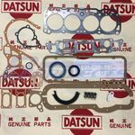 A15 Engine Repair Nissan Factory Gasket Kit (19 Kinds)