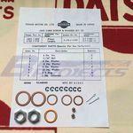 ECC Single Carburetor Washer & Nut Kit (Genuine/Vanette 1200/1500/DATSUN 1200 Ute Late 89~)