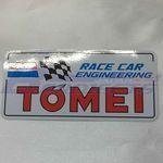 TOMEI 70's Sticker (Rectangle)