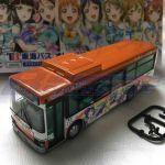 LoveLive ! Sunshine !! 1/80 Tokai Bus80 Orange Shuttle Wrapping #2 bus