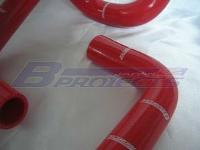 Silicon Radiator Hoses (RED)