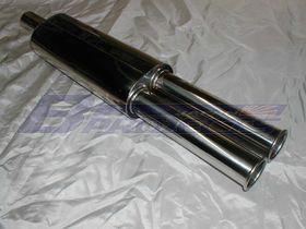 KB10 Replica Dual Exhaust Silencer
