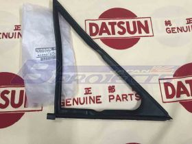 Weatherstrip 1/4 Ventilator Rubber RH (Genuine/B110 Datsun 1200 Ute)