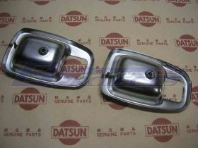 Escutheon Inside Handles (Genuine/B110 Datsun 1200 Ute)