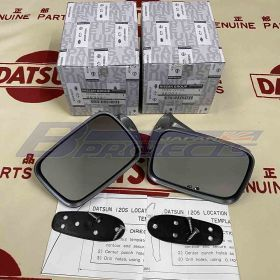 Door Mirrors Mirrors (Genuine/Datsun 1200 120Y Ute)
